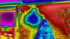 Thermografie bij lekkage