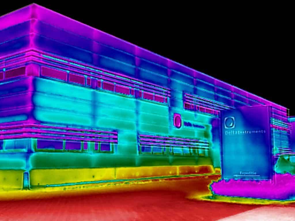 Thermografie bij Delta Instruments in Drachten