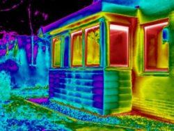 Onderzoek naar tochtklachten bij een nieuwe uitbouw in Zuidwolde met thermografie