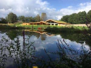 Thermografie bij een duurzaam gebouwde villa in Holten.