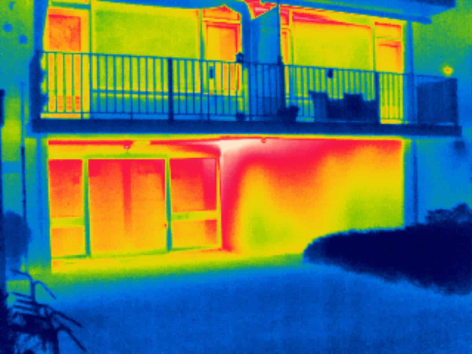Thermografie bij onderzoek van isolatiegebreken