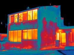 Thermografie maakt vochtproblemen zichtbaar